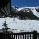 Snowcreek #761 Deck View