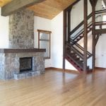 154 Mountain Vista Dr Living Room and Fireplace