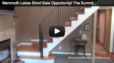 Mammoth Lakes Short Sale––The Summit #229