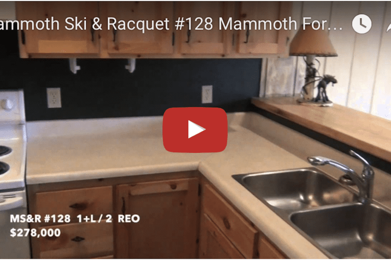 Mammoth Foreclosure  Mammoth Ski & Racquet #128