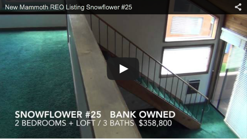 New Mammoth REO Listing  Snowflower #25
