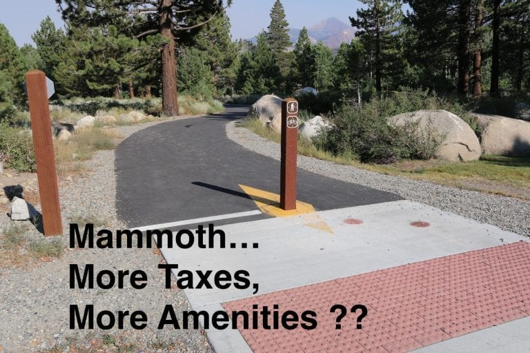Mammoth Real Estate Q & A      Taxation Without Representation …and Appreciation