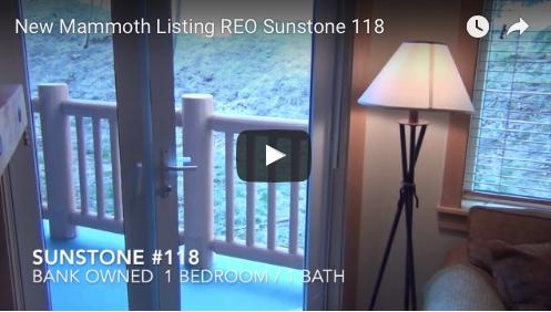 New Mammoth Listing  REO  Sunstone #118