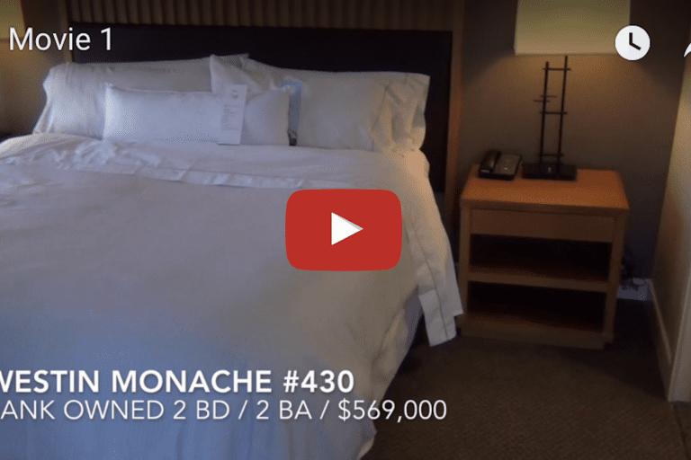 New Mammoth Listing  Westin Monache #430