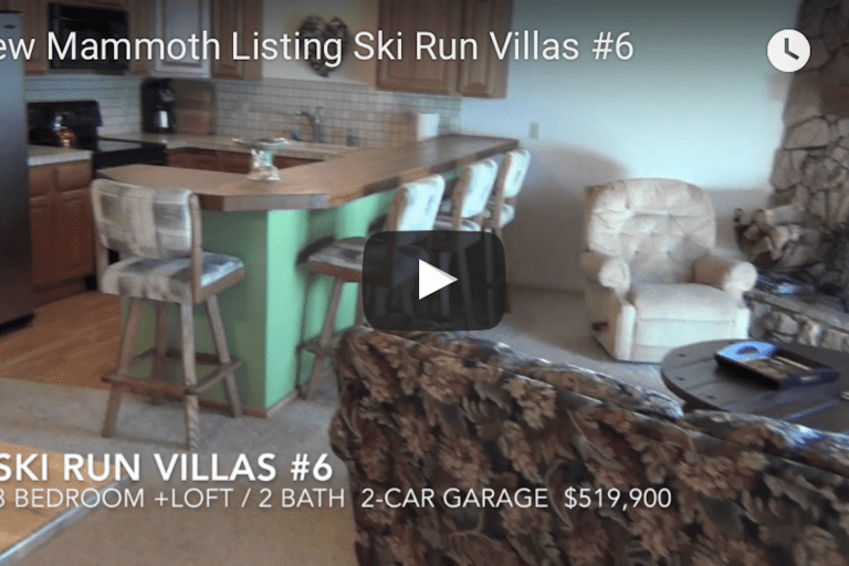 New Mammoth Listing — Ski Run Villas #6