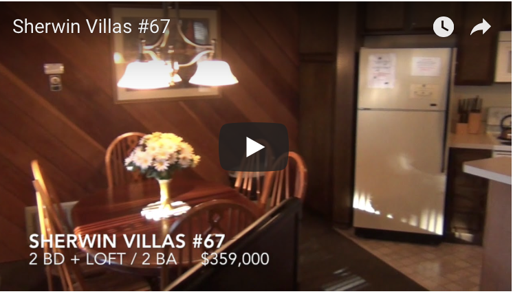 New Mammoth Listing    Sherwin Villas #67
