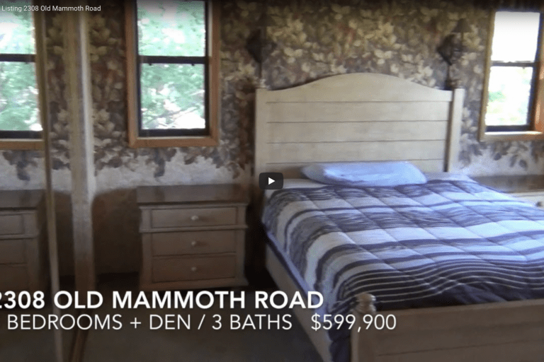 Mammoth New Listing — 2308 Old Mammoth Road