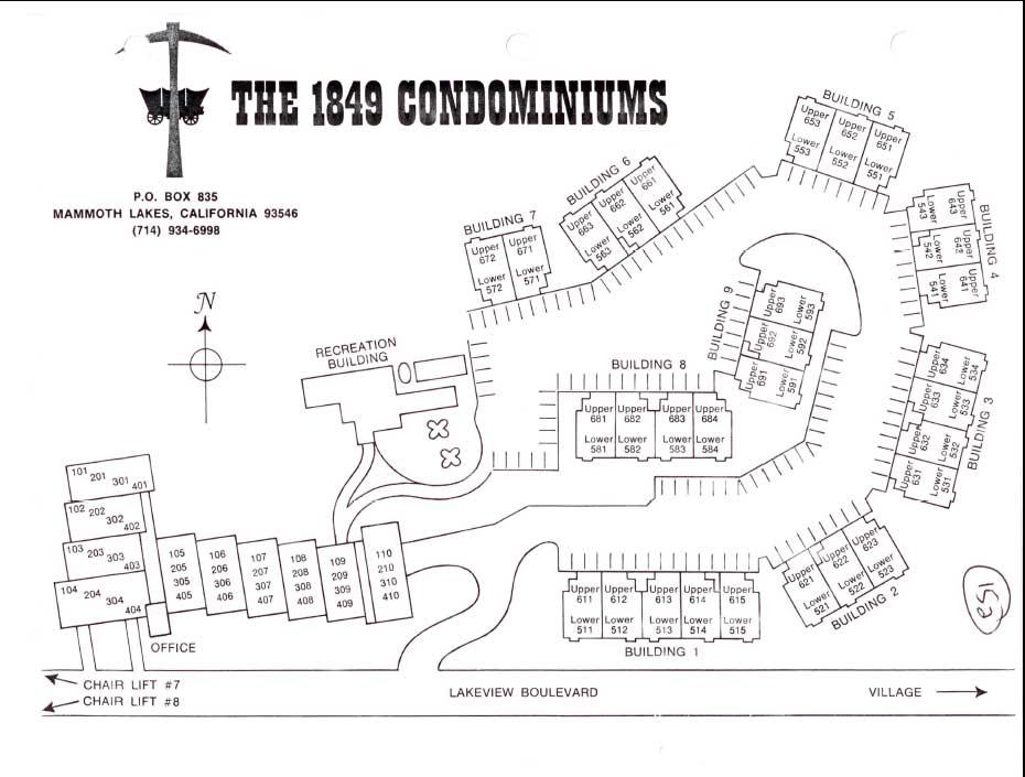 1849 Condos Sitemap
