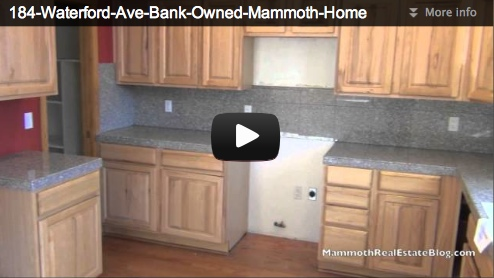 Mammoth Lakes Foreclosure of The Week – 184 Waterford Ave.