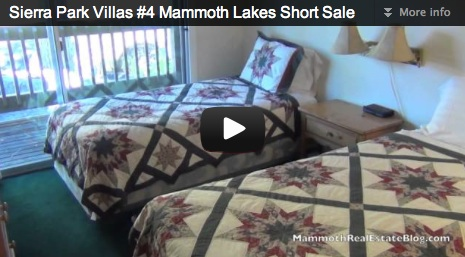 Mammoth Lakes Short Sale––Sierra Park Villas #4