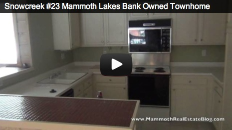 Mammoth Lakes Foreclosure of The Week  Snowcreek #23