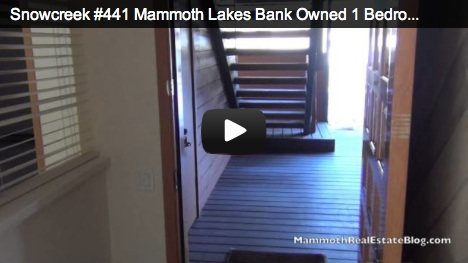 Snowcreek #441 Mammoth Lakes Foreclosure of The Week