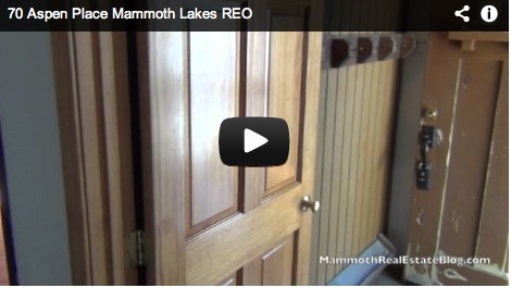 Mammoth Foreclosure of The Week  70 Aspen Place