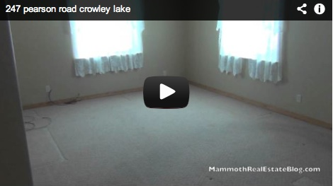Mammoth Foreclosure of The Week  247 Pearson Rd in Crowley Lake