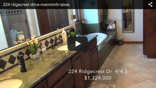 New Mammoth Listing   224 Ridgecrest Drive