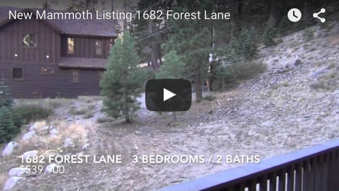 New Mammoth Listing   1682 Forest Lane