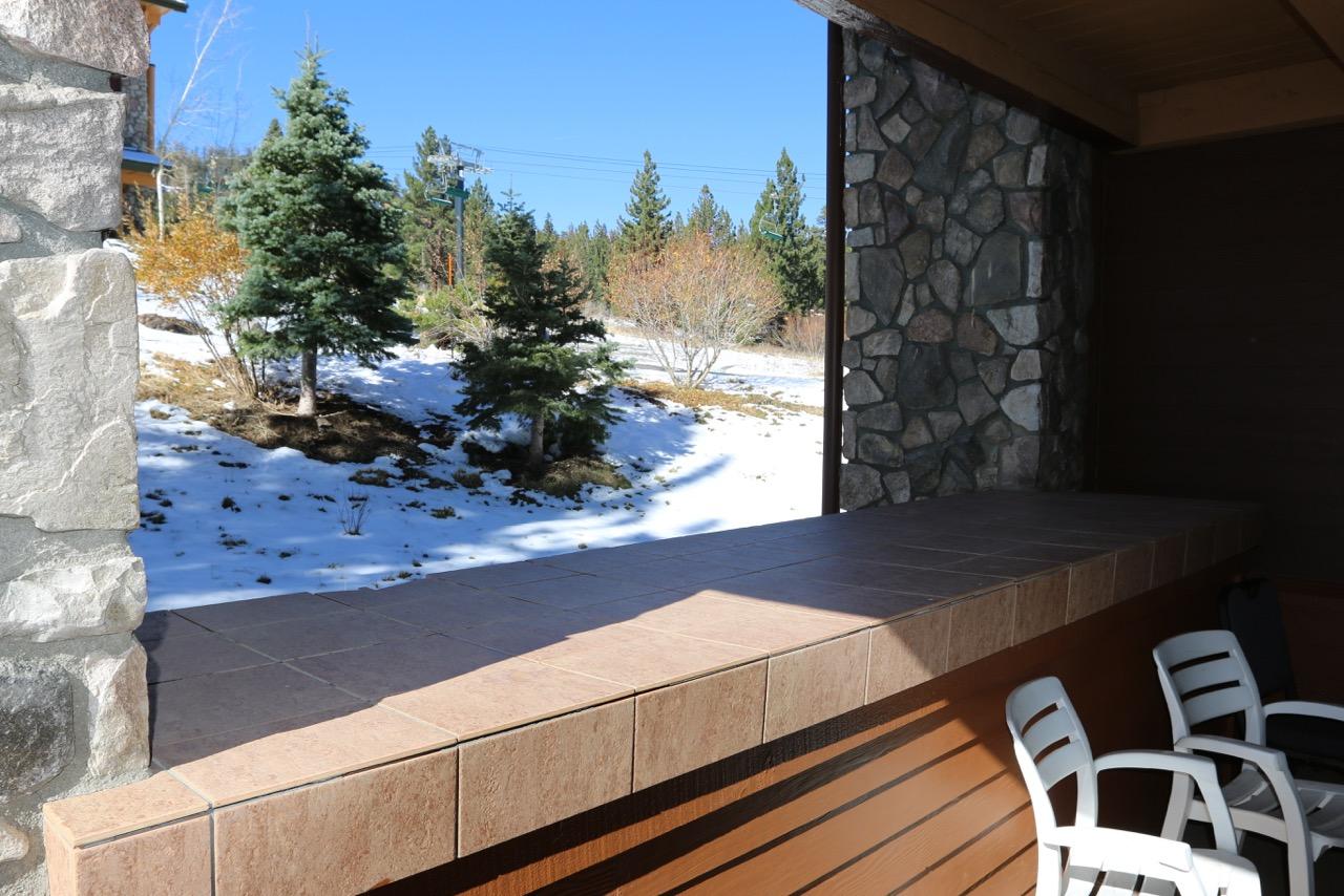 Juniper Springs Lodge #246.deck to ski run