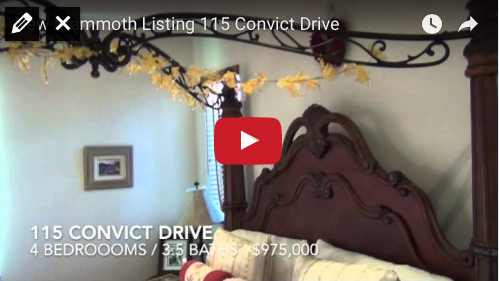 New Mammoth Listing    115 Convict Drive