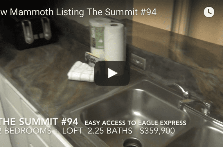 New Mammoth Listing   The Summit #94