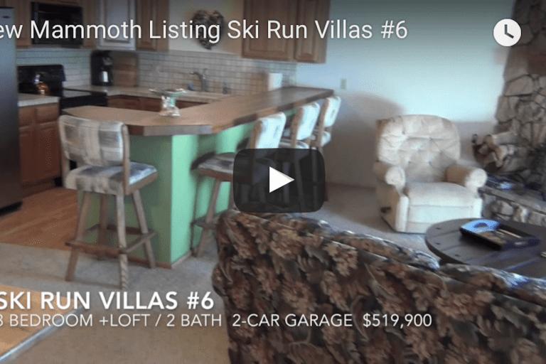 New Mammoth Listing — Ski Run Villas #6